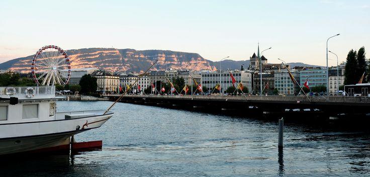 https://flic.kr/p/Csg8F5 | Geneva Switzerland | Travel Europe without visas GENEVA SWITZERLAND The fountain JET-D'O was wet under it