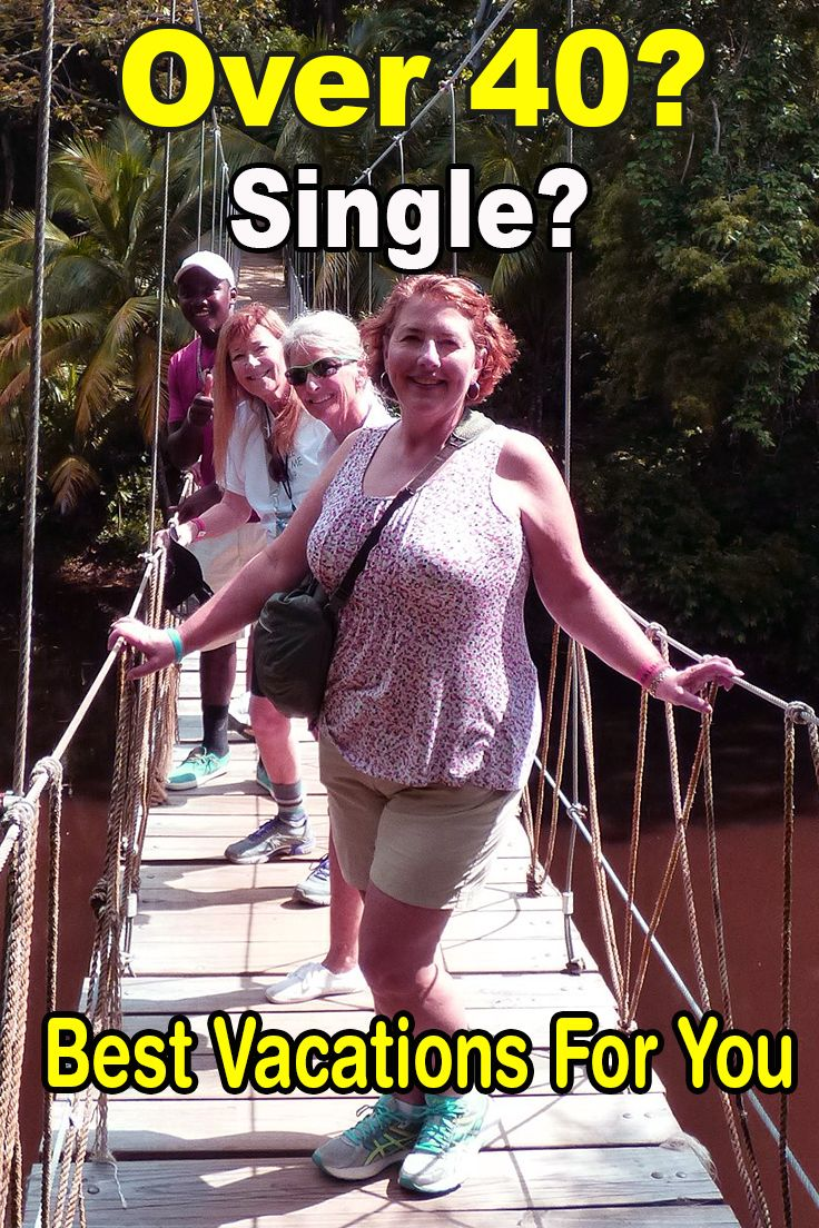 Vacation for singles over 40