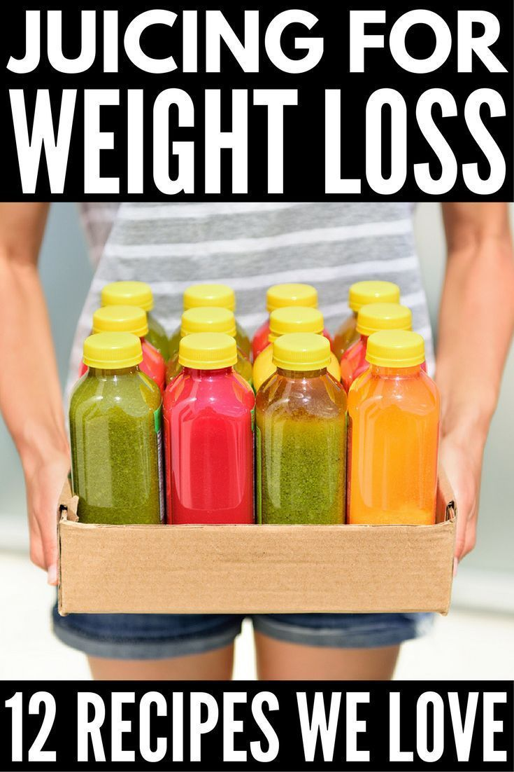 Juicing Recipes for Weight Loss   Chances are you've heard of all the health benefits associated with juicing. It's great for weight loss, for detox, for health, for skin...for pretty much everything. But you don't have to go hardcore like Joe Cross. By replacing one snack or meal a day with one of these delicious juicing recipes to lose weight, you'll reap the benefits of your favorite fruits and vegetables and enjoy a healthier, happier, slimmer you! #juicing #weightloss #detox #cleanse…