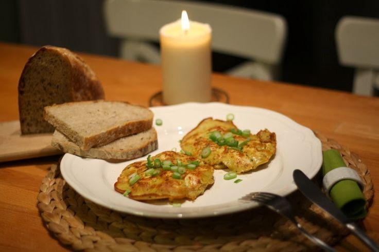 U nás na kopečku: ... kuřecí omeleta ...