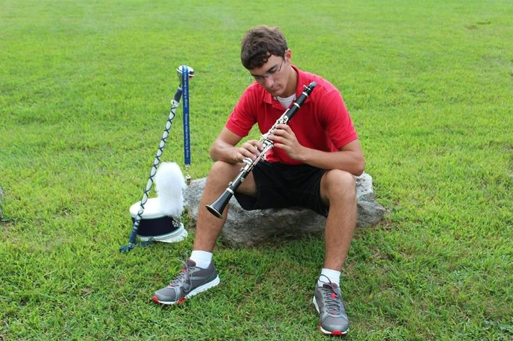 Band senior pictures
