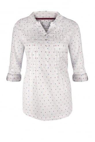 Womens Delightful Dobby Multi Coloured Shirt | Mistral