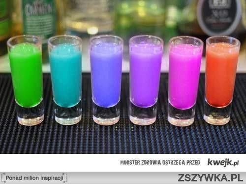 kolorowe shoty - Szukaj w Google
