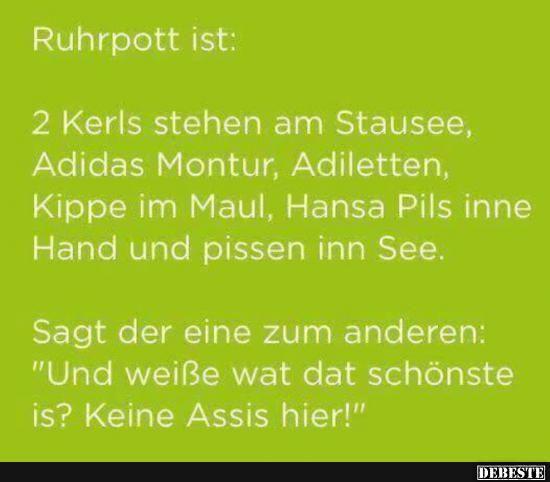 Ruhrpott ist.. | Lustige Bilder, Sprüche, Witze, echt lustig