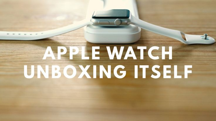 Burger Fiction created a wonderful stop-motion animated video of an Apple Watch unboxing itself.
