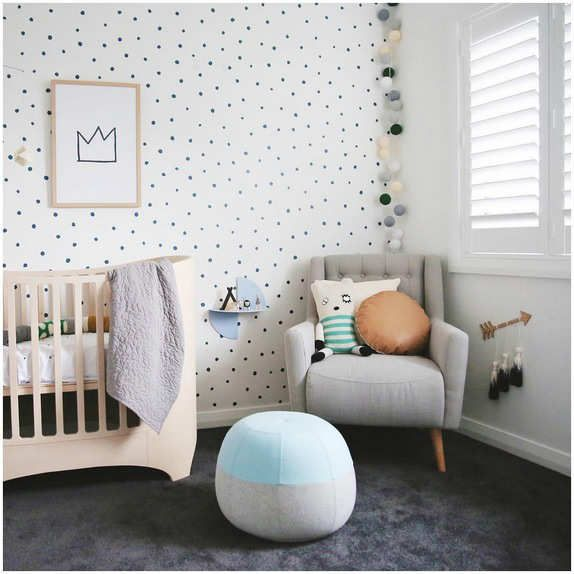 So chic and so soft neutral colours - 10 Light and Bright Nurseries | Tinyme Blog