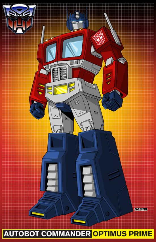 Optimus Prime by AJSabino.deviantart.com on @deviantART