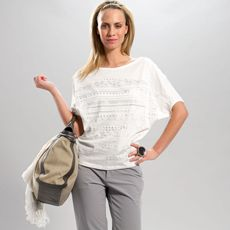 Lolë Audrey Top - It feels good all over in our new Eco Slub #LOLEGLOW