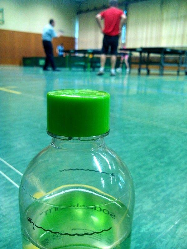 #Tischtennis #Training beim VfL #Bellheim bei gefühlten 45 Grad Celsius Innentemperatur