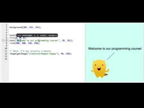What is Programming? This is an intro to programming video at Khan Academy and it is a great place to start to give you a very broad overview of what computer programming is.