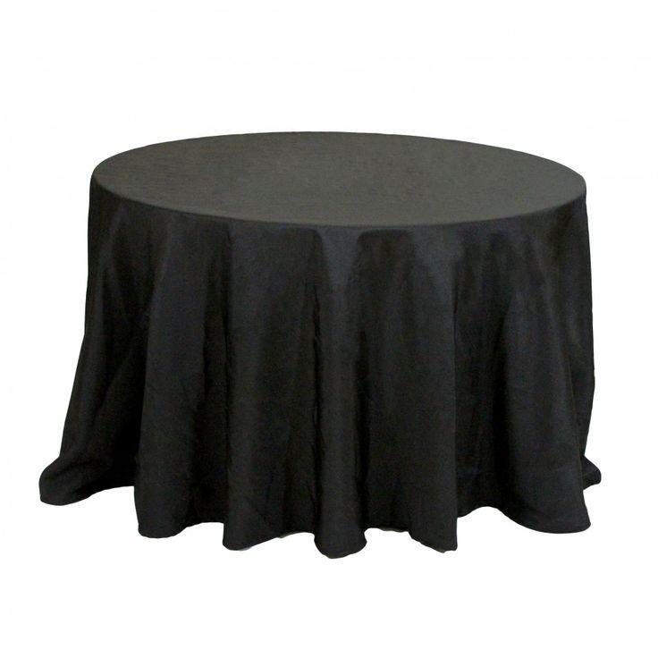 132 round table linens black 404011 wholesale wedding supplies discount wedding