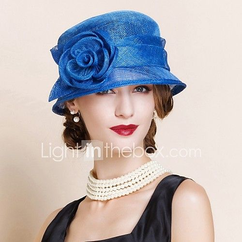 Women's Flax Headpiece - Wedding/Special Occasion Hats 1 Piece 2017 - $32.99