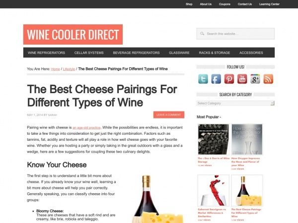 The Best Cheese Pairings For Different Types of Wine