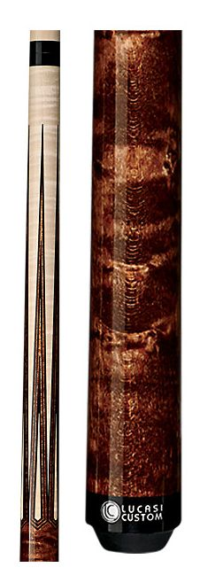 This Lucasi LZSP2 custom pool cue has a beautifully rich solid wood grain that will make all your friends envious http://www.BilliardFactory.com/Lucasi-Lzsp2-Pool-Cue