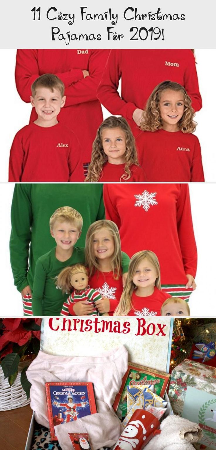 11 Cozy Family Christmas Pajamas For 2019! Vacation,