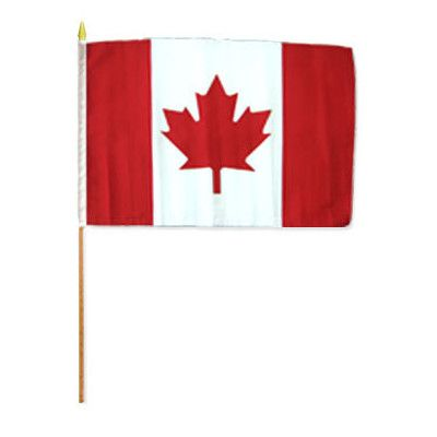 FlagsImporter Canada Traditional Flag and Flagpole Set