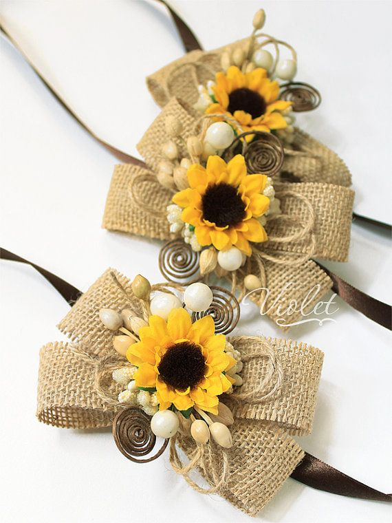10 Rustic Boxed Sunflower Scrolls, Wooden Box Sunflower Wedding Invitations, Handmade Rustic Eco Twine Invitation Scrolls, Sunflower Scroll