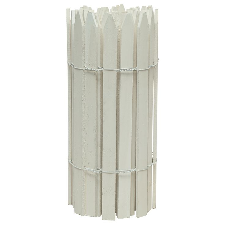 greenes white pine garden fence panel common 0375in x 180in