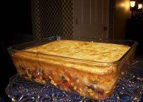 What's Cooking With Melissa?: Vegetarian Black Bean Mexican Cornbread Casserole