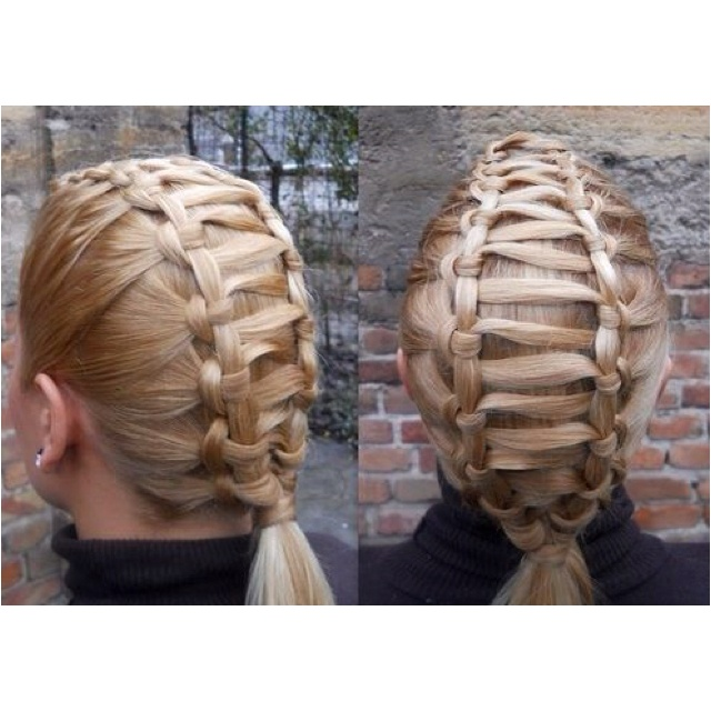 cute: Braids Hairstyles, French Braids, Ladder Braids, Dry Hair, Fashion Hairstyles, Training Track, Hair Style, Hair Knot, New Hairstyles