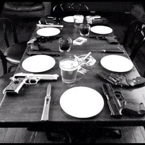 cena con la familia
