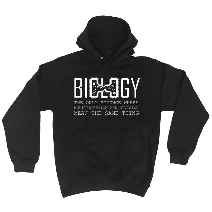 123t USA Biology The Only Science Division Mean The Same Thing Funny Hoodie