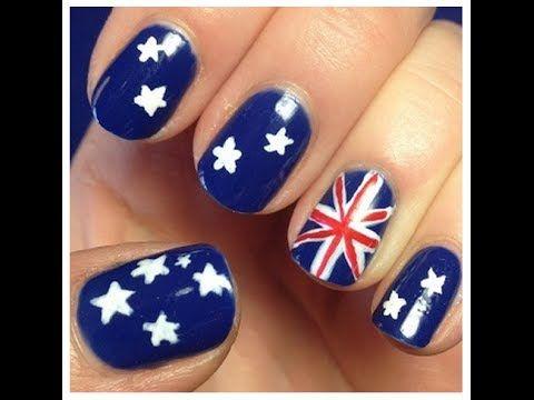 Uñas Decoradas para el Mundial 2014 (parte 2) #uñas #uñas decoradas #mundial 2014 #brasil 2014 #nails #nails art #youtube #canal de moda #moda 2014 #mundial brasil 2014 #decoración de uñas #facil