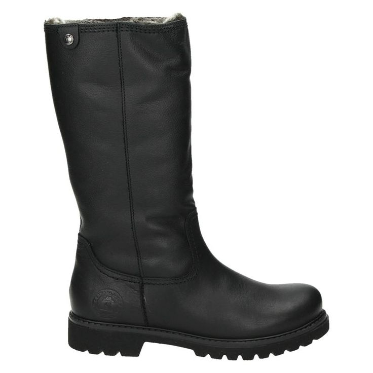 Panama Jack dames hoge laarzen zwart