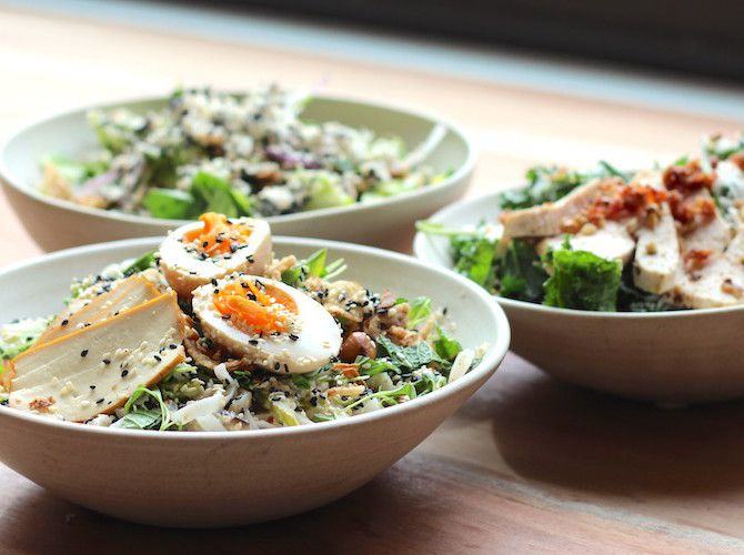 Best salads in Vancouver