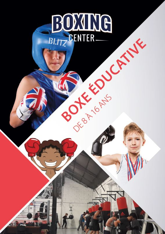 Flyer pour Boxing Center Toulouse  #Print #Flyer #FlyerA6 #Marketing #Communication  #Graphisme
