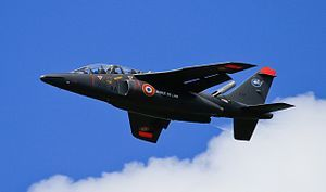 Dassault alphajet Solo  An Alpha Jet of the French Air Force