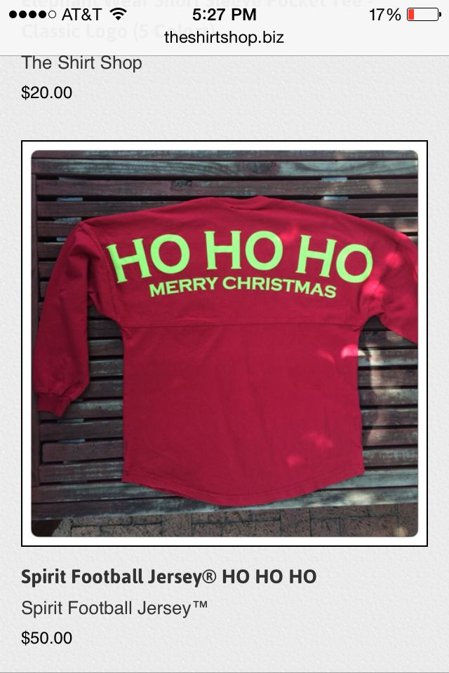 Cute Christmas spirit jersey from the shirt shop!