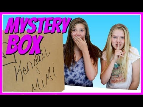 3e23f2c325123 MYSTERY BOX WITH KENDALL AND MIMI