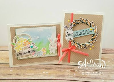 Sootywing Studios: Basket Bunch Easter Cards: Stampin' Up! Artisan Blog Hop