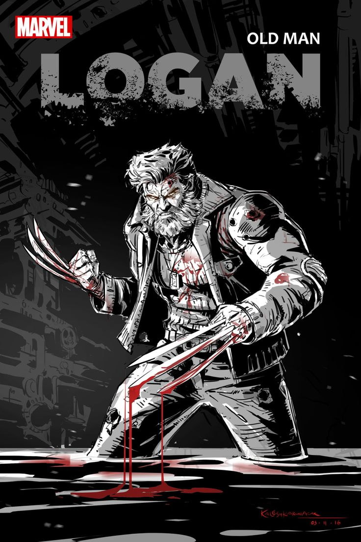 Old Man Logan by Kalesh Karunak