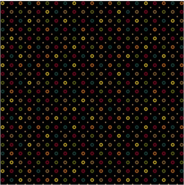 "Welcome Wagon - Black Cheerios Fabric by Kim Diehl for Henry Glass - Sold by 1/4 Yard(9"" x 43"")"