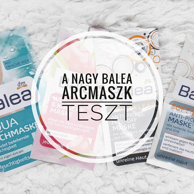 A mai posztban a Balea maszkokkal kapcsolatos tapasztalataimról olvashattok! 😘 Kattintsatok a linkre a bio-ban a megnyitáshoz! ☺ Nektek mi a kedvenc arcmaszkotok? 👀···#beautyblogger #szepsegblog #termekteszt #arcápolás #ujposzt #balea #facemasks #facialmask #baleamaske #beautytreats #skincare #magyarblogger #fromorsiwithlove #ikozosseg