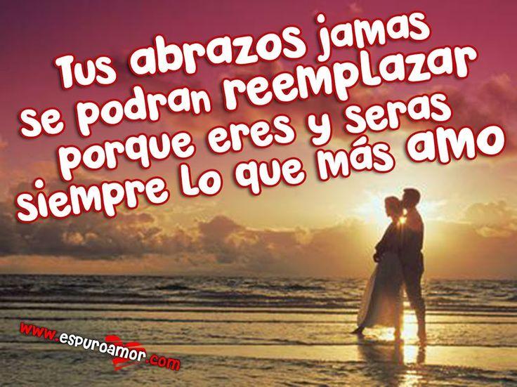 Frase de amor en tarjeta HD con imagen de pareja de enamorados abrazados - http://espuroamor.com/2014/04/frase-de-amor-en-tarjeta-hd-con-imagen-de-pareja-de-enamorados-abrazados.html #Frasesromanticas, #Imagenesdeamor, #Imagenesdeparejas