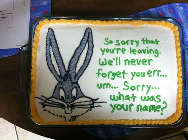 Best Farewell Cakes Images On Pinterest Cake Ideas Eat Cake - 18 savage cakes that get straight to the point