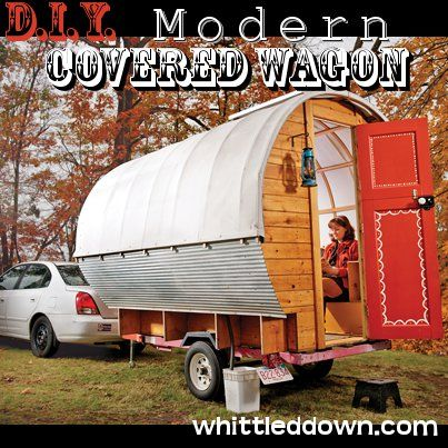 Inspirational Diy Modern Covered Wagon Plans To Come