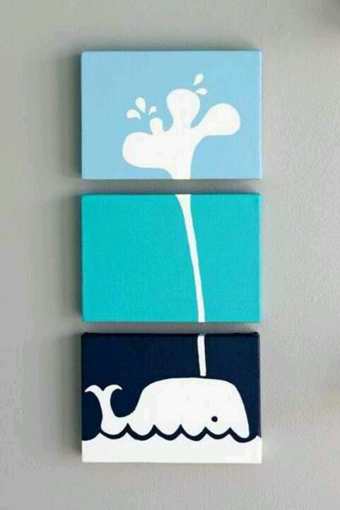 not just the whale but i love the idea of a canvas series… wow I'm really procrastinating now @lexi Lee Campbell