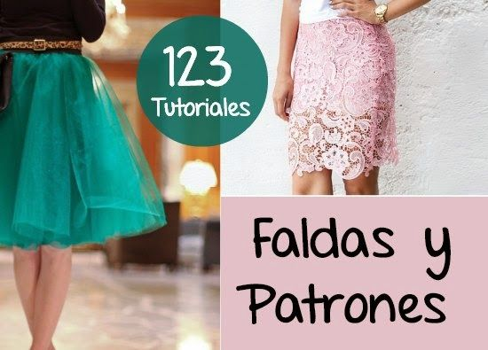 Faldas 123 Diys Tutoriales con Patrones - enrHedando Do it yourself skirt tutorials for skirts. post updates so the number may increase over time.