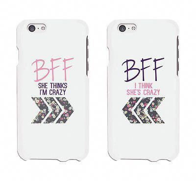 BFF Floral Arrow Cute BFF Matching Phone Cases For…