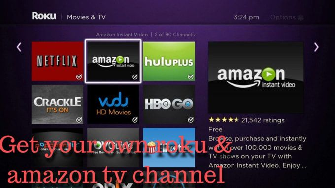 Create Roku And Amazon Tv Channel App Mobile Apps Mobile Apps Development Apps Inspiration Roku Tv Channel Instant Video