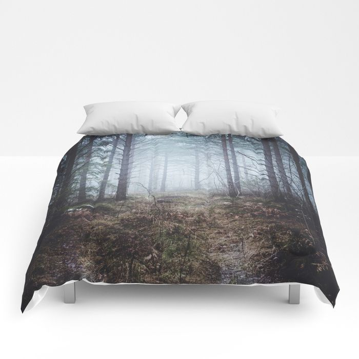 No more roads Comforters by HappyMelvin. #forests #nature #photo #homdécor #comforters