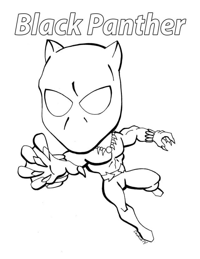 Black Panther Coloring Pages Best Coloring Pages For Kids Avengers Coloring Pages Superhero Coloring Pages Superhero Coloring