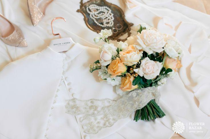 Букет невесты, букет невесты нежный, букет невесты 2016, растрепанный букет невесты, букет невесты необычный, букет невесты нежный, букет невесты розы, букет невесты осень, букет невесты персиковый