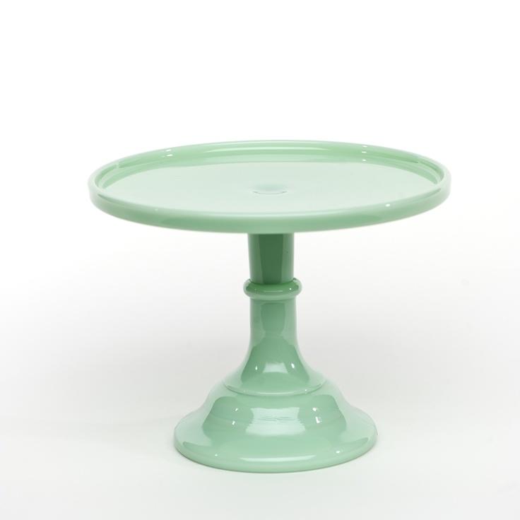 Milkglass Cake Stand