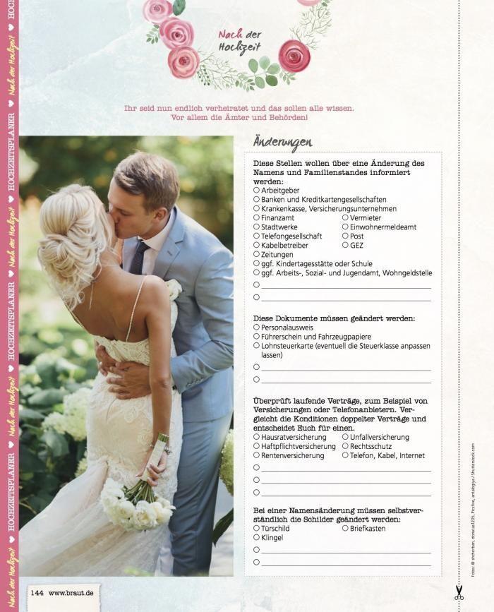 Bridal Corner Heiraten Mit Braut De Namensanderung Hochzeit Hochzeit Gluckwunsche Hochzeit