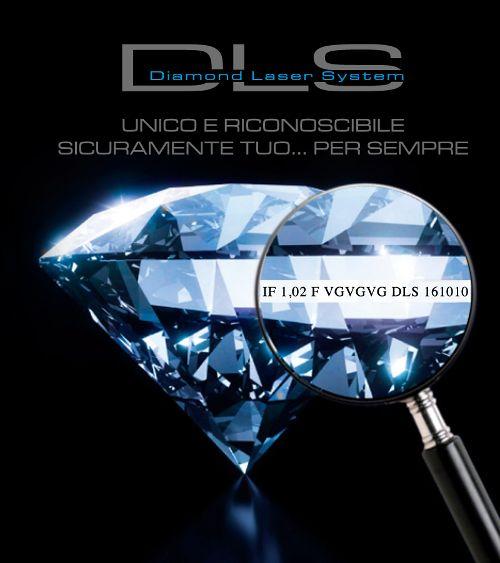 """DLS- Diamond Laser System La moderna certificazione che rende il tuo diamante unico e riconoscibile...""""TUO PER SEMPRE"""".  DLS è una nuova campagna su ITC PORTALE: https://itcportale.it/items/dls-diamond-laser-system-4/ #itcportale #jewelry #diamond #lifestyle #musthave #wedding #engagement #madeinitaly #diamanti #orobianco #gioielli"""